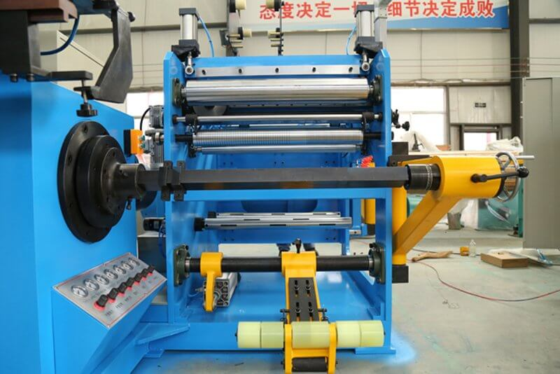 Aluminum Foil Winding Machine