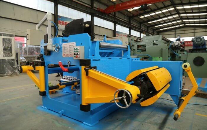 layer foil winding machine