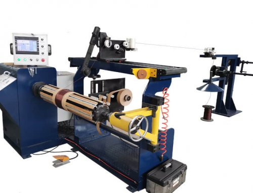 Semi Automatic Paper Strip Wire Winding Machine